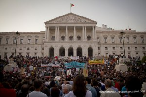 15 de Outubro Protesto Portugal 1